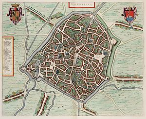 Valenciennes - Valenciennes in the 17th century.