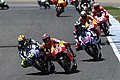 Valentino Rossi leads the pack 2014 Jerez.jpeg