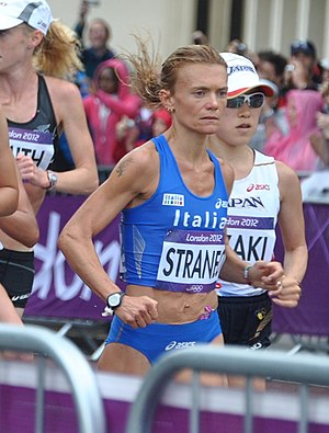 Valeria Straneo - Straneo competing at the 2012 Olympic Games.