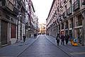 Valladolid calle Plateria hacia plaza Ochavo lou.jpg