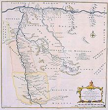 La Falm Gauche Et Le Sngal Sur Une Carte De 1747