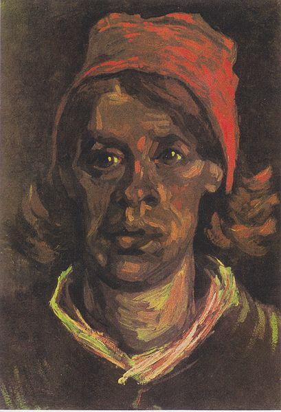 File:Van Gogh - Kopf einer Bäuerin mit roter Haube2.jpeg