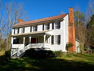 Vance C. Larmore House - The house in November 2017