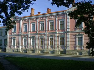 Estonian Literary Museum - The Estonian Literary Museum's building in Tartu, Vanemuise 42
