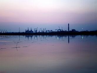 Monfalcone - Monfalcone port