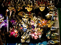 Venetian masks - shop in Venice