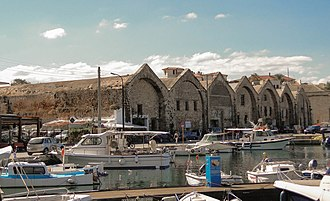 Chania - Venetian shipyards.
