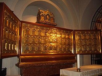 Triptych - The Verdun Altar in Klosterneuburg Monastery