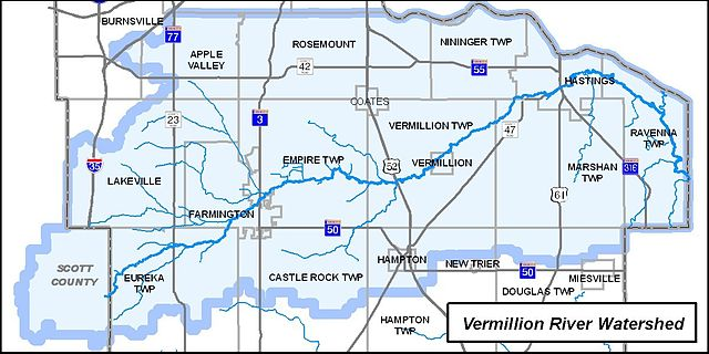 FileVermillion River Watershed MN mapjpg Wikimedia Commons