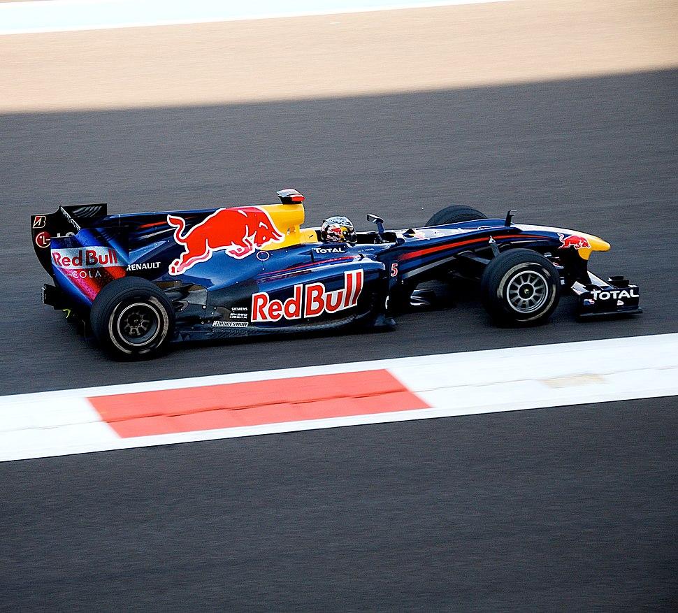 Vettel abu dabi 2010