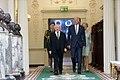 Vice President Joe Biden greets President Michael Higgins and Sabina Higgins.jpg