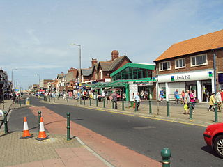 Cleveleys Human settlement in England