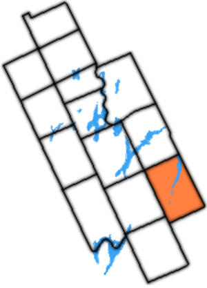 Emily Township - Emily Township within former Victoria County