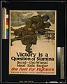 Victory is a question of stamina-Send - the wheat, meat, fats, sugar-The fuel for fighters United States Food Administration - - Harvey Dunn 1917. LCCN2002709058.jpg