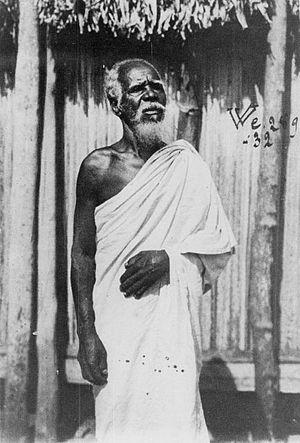 Antambahoaka - Elder of an Antambahoaka village, 1908