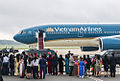 Vietnam Airlines Boeing 777 at Joint Base Andrews.jpg