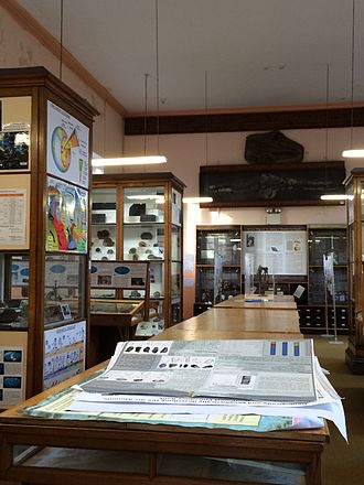 James Mitchell Museum - View inside the Museum
