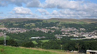 Ramsbottom - Image: View of Ramsbottom