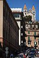 View of Santuario della Madonna di Montalto (Via Dina e Clarenza) overlooking the streets of Messina. Island of Sicily, Italy, Southern Europe.jpg