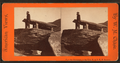 View of a man looking down from the top of the rock, Harper's Ferry, from Robert N. Dennis collection of stereoscopic views.png