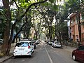 View of a street in Hindu Colony locality of Dadar, Mumbai.jpg