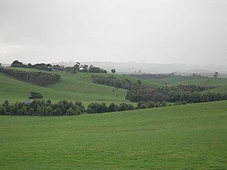 South Gippsland - Farmland near Kilcunda