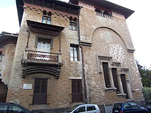 Villa Spera: facciata