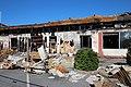 Villabé le 12 septembre 2014 - McDonalds brûlé sur l'aire d'autoroute - 04.jpg