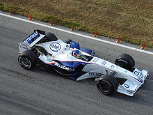 Photo de la BMW Sauber F1.06 de Jacques Villeneuve