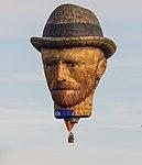 Vincent van Gogh op de Jaarlijkse Friese ballonfeesten in Joure 01.jpg