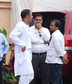Vindu Dara Singh visits Rajesh Khanna's home Aashirwad 11.jpg