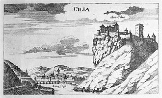 Celje - Celje, Georg Matthäus Vischer, Topographia Ducatus Stiriae, Graz 1681
