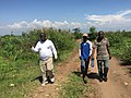 Visiting our farm project in Kawizi Uvira.jpg