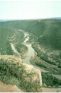 Great Fish River river in South Africa