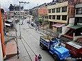 Vista «aérea» de una calle bogotana - II - panoramio.jpg