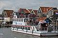Volendam harbour overview with its ferryboat Volebdam-Marken - panoramio.jpg
