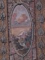 Vrtbovská zahrada, sala terrena, průhled do krajiny - freska (003).JPG