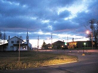 Albanel, Quebec - Albanel at dawn