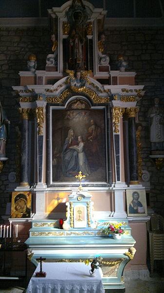 Chapelle du transept nord de l'église Saint-Thuriau (1809), Fr-56-Crac'h.