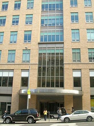 Columbia University School of Social Work - Entrance to the Columbia University School of Social Work