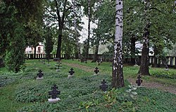 WWI, Military cemetery No. 98 Glinik Mariampolski, Biecka street, City of Gorlice, Lesser Poland Voivodeship, Poland.jpeg