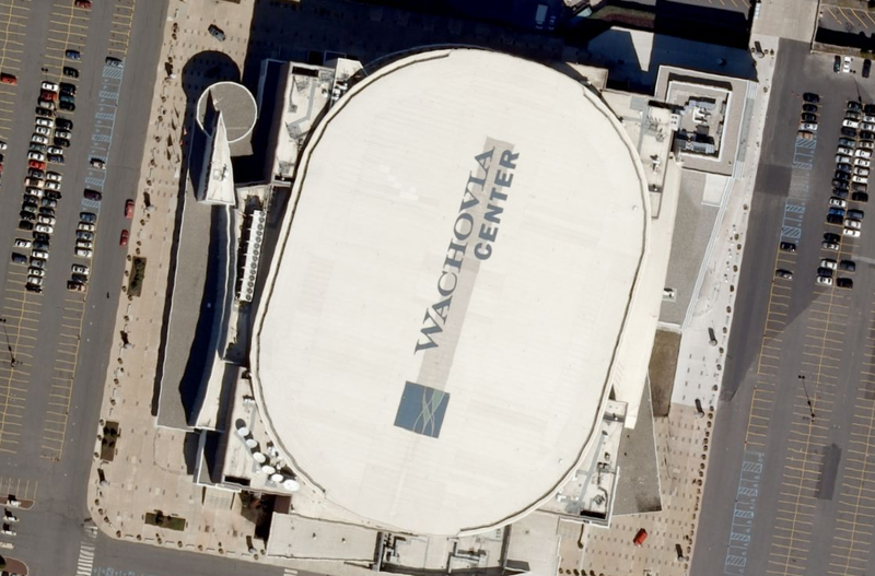 Ficheiro:Wachovia Center satellite view.png