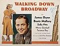 Walking Down Broadway lobby card.jpg