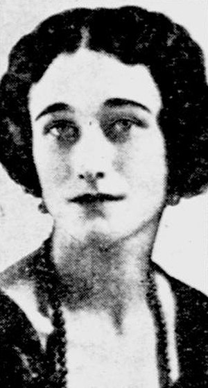 Wallis Simpson - Wallis Warfield in about 1915 when she lived in Baltimore