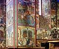 Wallpainting of a pillar in the Church of St. John the Precursor (Prokudin-Gorsky).jpg