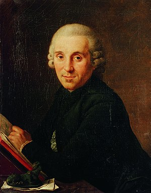 Historical Archive of the City of Cologne - Ferdinand Franz Wallraf, collector, portrait by Johann Anton de Peters