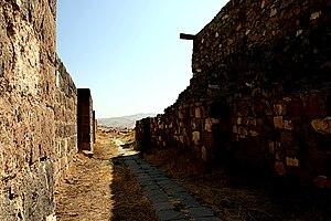 Konstantine Hovhannisyan - The walls of Erebuni fortress.