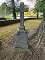 Wamckow Kirchhof Grabkreuz Sophie von Bülow 2012-10-11 417.JPG