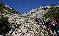 Wanderweg von Groblje, Crikvenica auf den Berg Obzova (569 m), Kroatien.jpg