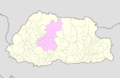 Wangdue Phodrang Bhutan location map.png